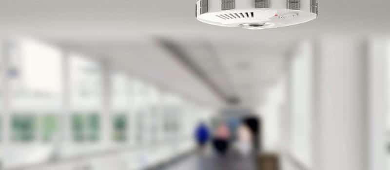 sprinkler detector plejehjem